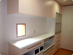 キッチン(背面)