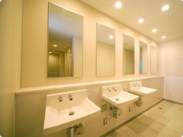 洗面台・パウダーコーナー / 女子トイレ